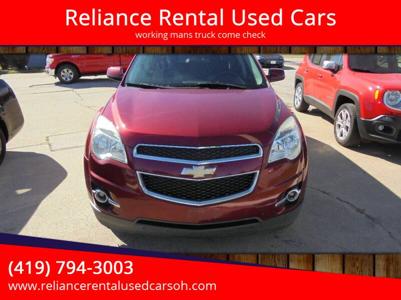 2012 Chevrolet Equinox for sale at Reliance Rental Used Cars in Maumee OH