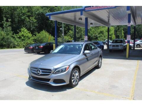 2015 Mercedes-Benz C-Class for sale at Inline Auto Sales in Fuquay Varina NC
