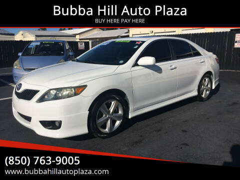 2010 Toyota Camry for sale at Bubba Hill Auto Plaza in Panama City FL