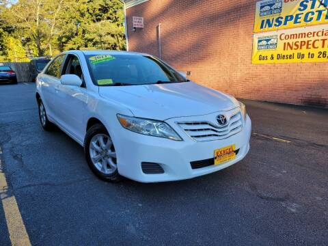 2011 Toyota Camry for sale at Exxcel Auto Sales in Ashland MA