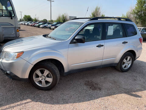 2011 Subaru Forester for sale at PYRAMID MOTORS - Fountain Lot in Fountain CO