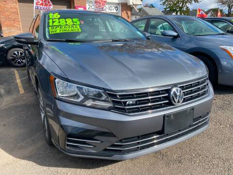 2016 Volkswagen Passat for sale at GRAND USED CARS  INC in Little Ferry NJ