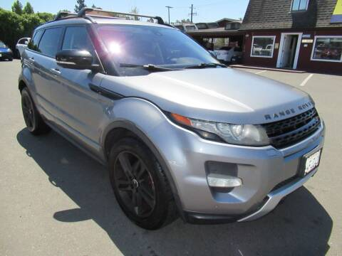 2012 Land Rover Range Rover Evoque for sale at Tonys Toys and Trucks in Santa Rosa CA