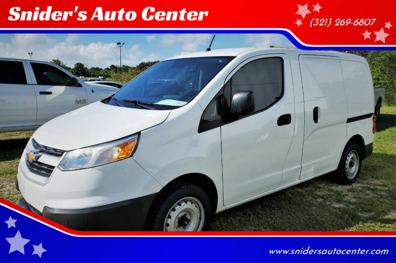 2015 Chevrolet City Express Cargo for sale at Snider's Auto Center in Titusville FL