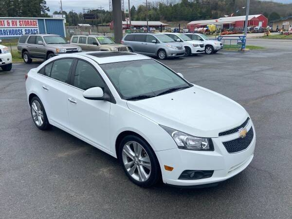 2012 Chevrolet Cruze for sale at Greenbrier Auto Sales in Greenbrier AR