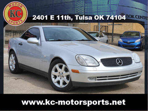 1999 Mercedes-Benz SLK for sale at KC MOTORSPORTS in Tulsa OK