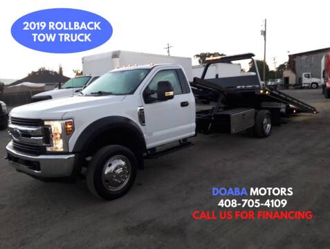2019 Ford F-550 Super Duty for sale at DOABA Motors - Flatbeds in San Jose CA