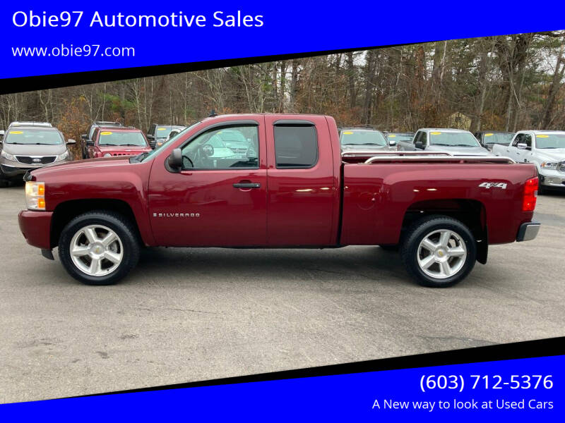2009 Chevrolet Silverado 1500 for sale at Obie97 Automotive Sales in Londonderry NH