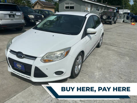 2014 Ford Focus for sale at H3 MOTORS in Dickinson TX
