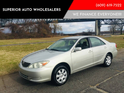 2004 Toyota Camry for sale at Superior Auto Wholesalers in Burlington City NJ
