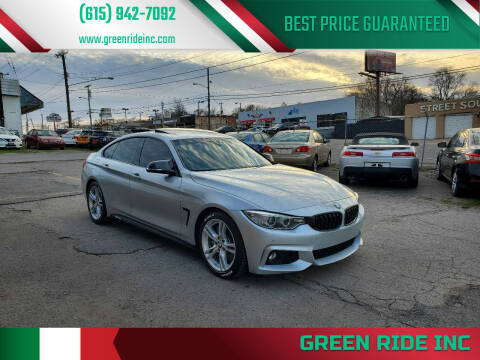2016 BMW 4 Series for sale at Green Ride Inc in Nashville TN