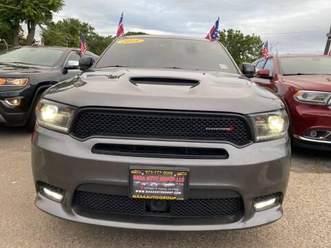 2018 Dodge Durango for sale at Nasa Auto Group LLC in Passaic NJ