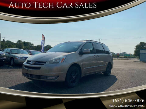 2005 Toyota Sienna for sale at Auto Tech Car Sales in Saint Paul MN
