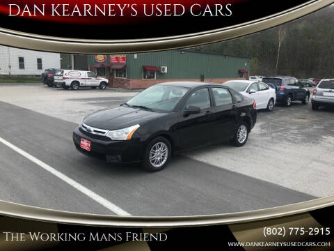2009 Ford Focus for sale at DAN KEARNEY'S USED CARS in Center Rutland VT
