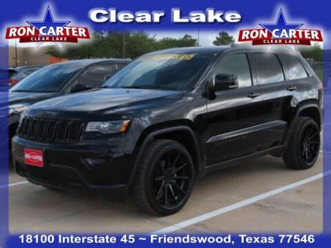 2017 Jeep Grand Cherokee for sale at Ron Carter  Clear Lake Used Cars in Houston TX