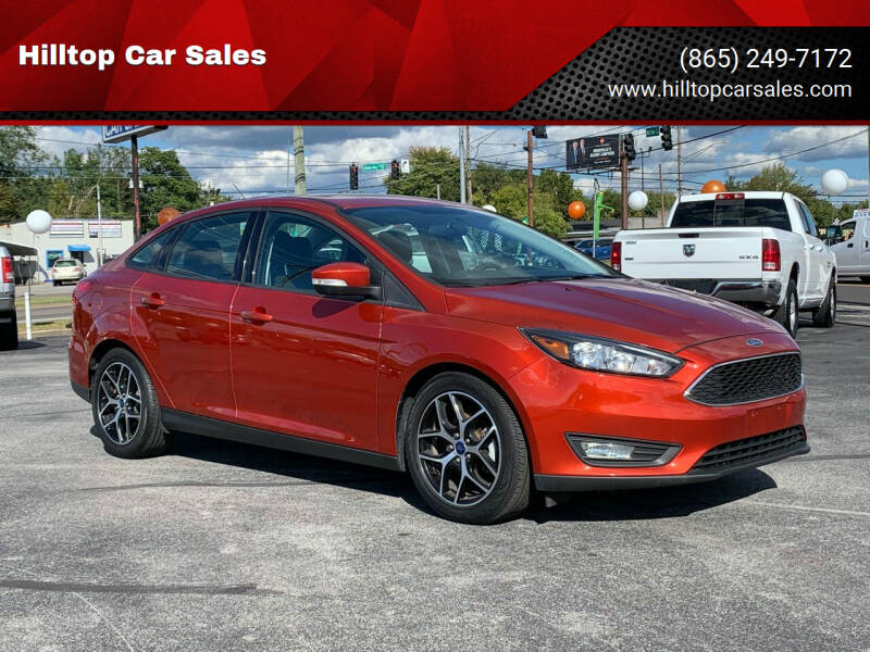 2018 Ford Focus for sale at Hilltop Car Sales in Knox TN