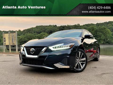 2020 Nissan Maxima for sale at Atlanta Auto Ventures in Roswell GA
