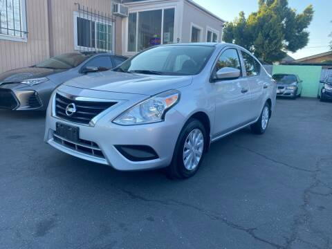 2017 Nissan Versa for sale at Ronnie Motors LLC in San Jose CA