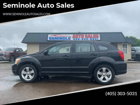 2010 Dodge Caliber for sale at Seminole Auto Sales in Seminole OK
