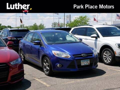 2014 Ford Focus for sale at Park Place Motor Cars in Rochester MN
