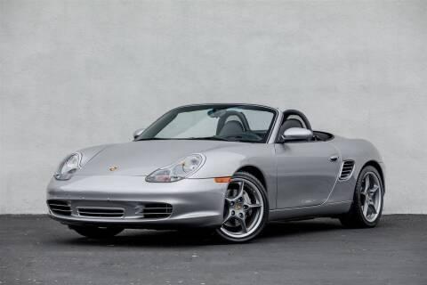 2004 Porsche Boxster for sale at Nuvo Trade in Newport Beach CA