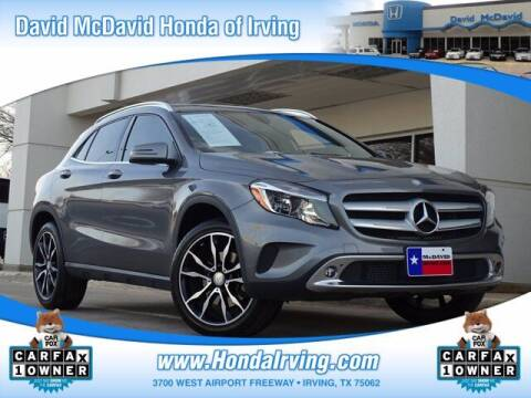 2017 Mercedes-Benz GLA for sale at DAVID McDAVID HONDA OF IRVING in Irving TX
