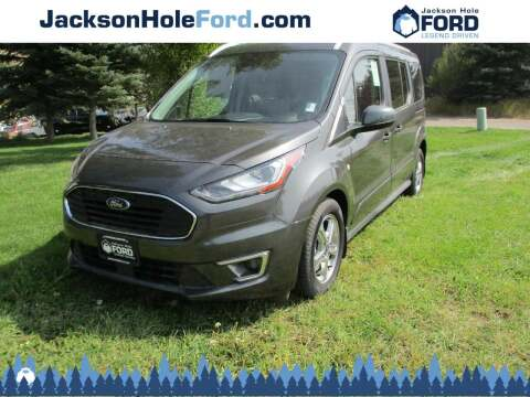 2019 Ford Transit Connect Wagon for sale at Jackson Hole Ford of Alpine in Alpine WY