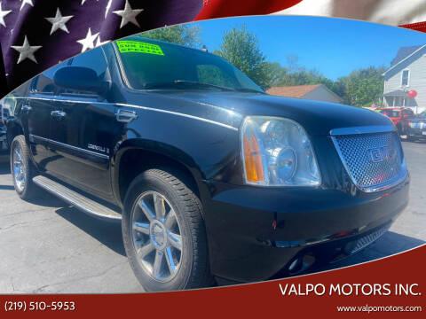 2007 GMC Yukon for sale at Valpo Motors Inc. in Valparaiso IN