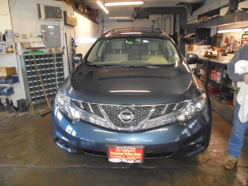 2011 Nissan Murano for sale at Precision Valley Auto Sales in Springfield VT