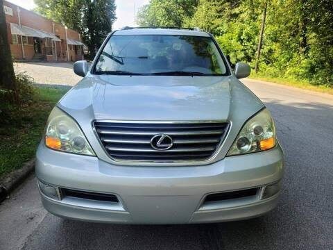 2003 Lexus GX 470 for sale at IMPORT AUTO SOLUTIONS, INC. in Greensboro NC