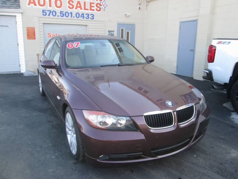 2007 BMW 3 Series for sale at Small Town Auto Sales in Hazleton PA