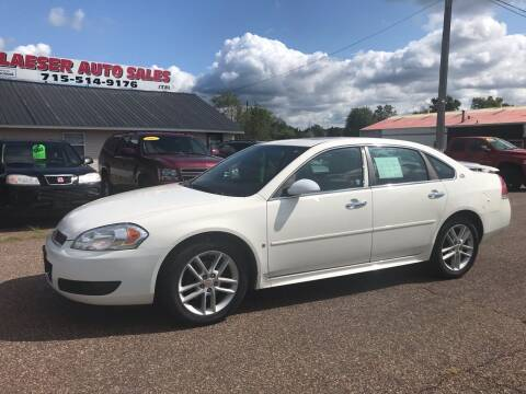 2009 Chevrolet Impala for sale at BLAESER AUTO LLC in Chippewa Falls WI