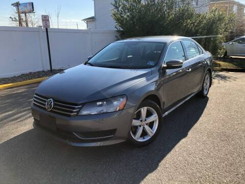 2014 Volkswagen Passat for sale at Giordano Auto Sales in Hasbrouck Heights NJ