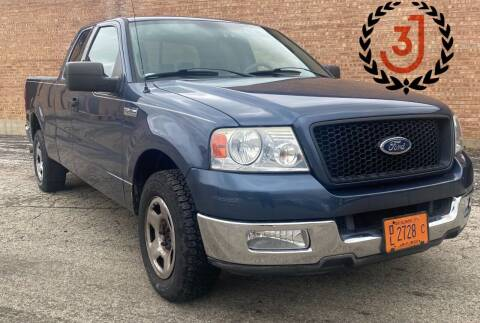 2004 Ford F-150 for sale at 3 J Auto Sales Inc in Arlington Heights IL