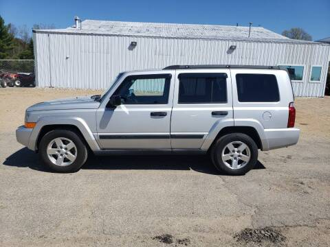 2006 Jeep Commander for sale at Steve Winnie Auto Sales in Edmore MI
