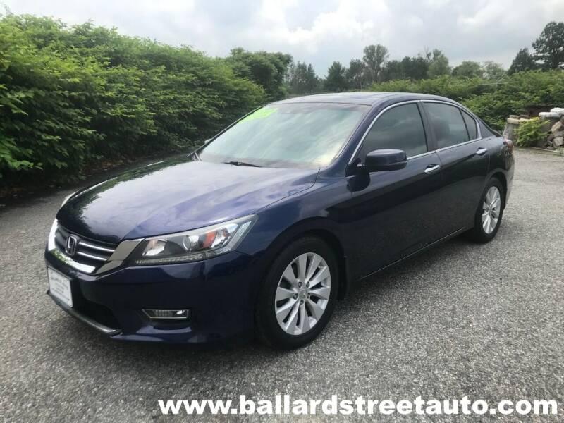 2013 Honda Accord for sale at Ballard Street Auto in Saugus MA