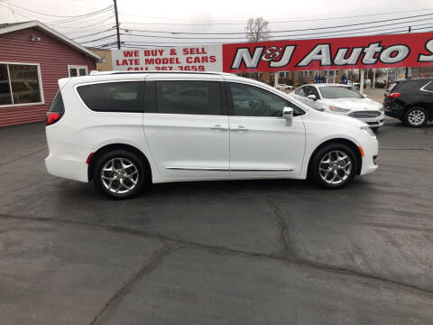 2019 Chrysler Pacifica for sale at N & J Auto Sales in Warsaw IN