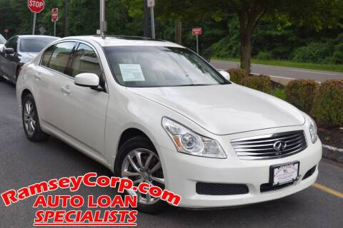 2007 Infiniti G35 for sale at Ramsey Corp. in West Milford NJ