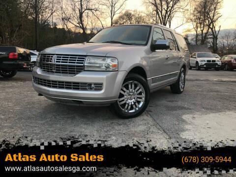 2007 Lincoln Navigator for sale at Atlas Auto Sales in Smyrna GA