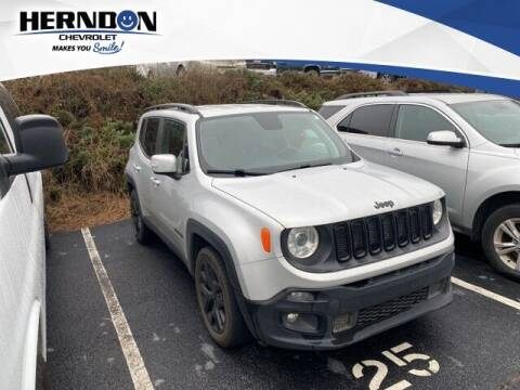 2018 Jeep Renegade for sale at Herndon Chevrolet in Lexington SC