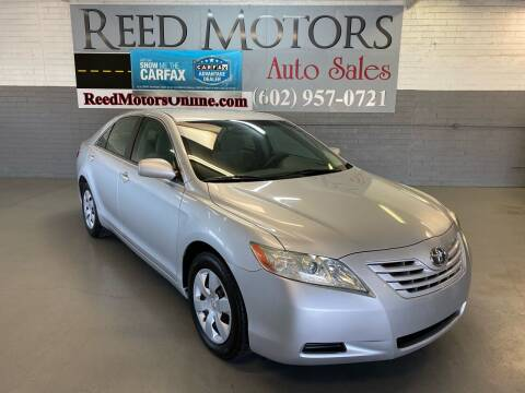2009 Toyota Camry for sale at REED MOTORS LLC in Phoenix AZ