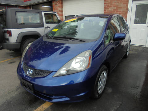 2012 Honda Fit for sale at Washington Street Auto Sales in Canton MA