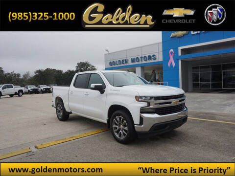 2020 Chevrolet Silverado 1500 for sale at GOLDEN MOTORS in Cut Off LA