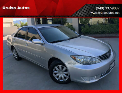 2005 Toyota Camry for sale at Cruise Autos in Corona CA