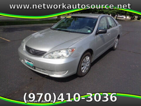 2005 Toyota Camry for sale at Network Auto Source in Loveland CO