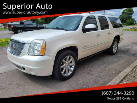 2011 GMC Yukon XL for sale at Superior Auto in Cortland NY