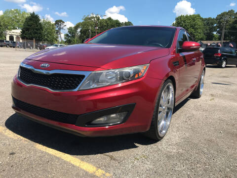2013 Kia Optima for sale at Certified Motors LLC in Mableton GA