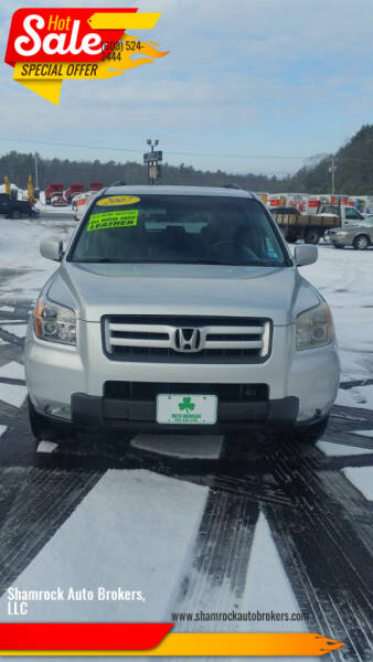 2007 Honda Pilot for sale at Shamrock Auto Brokers, LLC in Belmont NH
