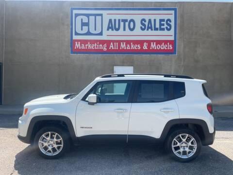 2020 Jeep Renegade for sale at C U Auto Sales in Albuquerque NM