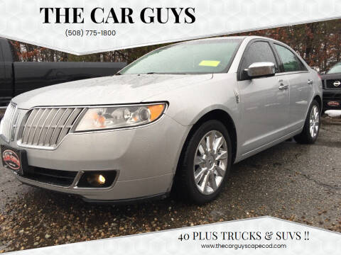 2010 Lincoln MKZ for sale at The Car Guys in Hyannis MA